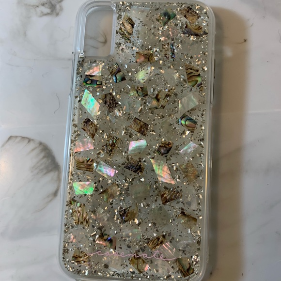 super popular 47df9 90d74 Casemate iPhone XS mother of pearl